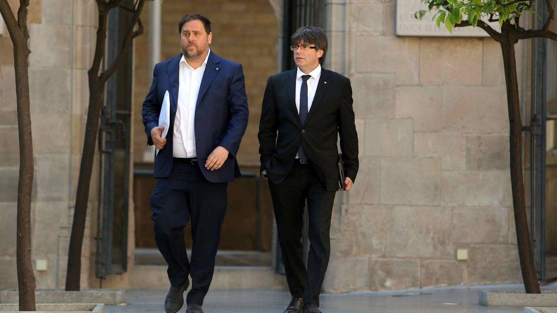 Junqueras y Puigdemont afrontan sin fondos un revés millonario en paralelo a los indultos