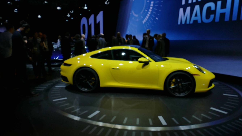 Por qué el novedoso Porsche 911 está siendo la estrella del salón de Los Ángeles