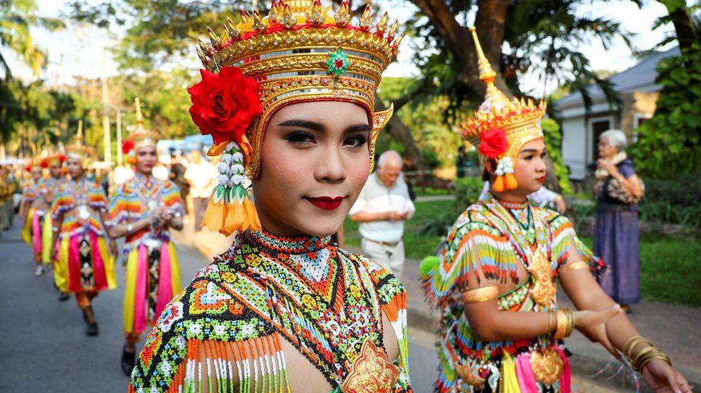 Foto: Imagen del festival de turismo de Tailandia de 2018 celebrado en Bangkok. (EFE / Diego Azubel)