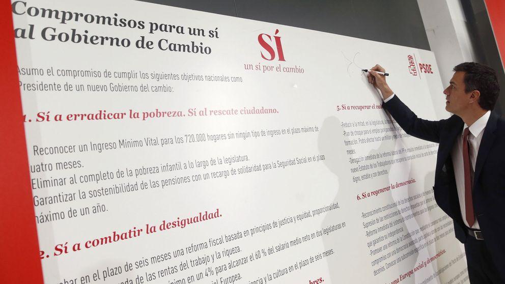Sánchez se compromete a someterse a una cuestión de confianza a mitad de legislatura