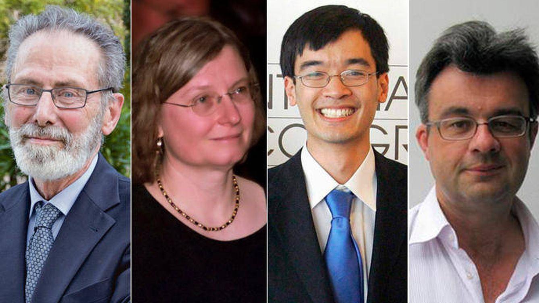 Los matemáticos Meyer, Daubechies, Candès y Tao, Princesa de Asturias de Investigación