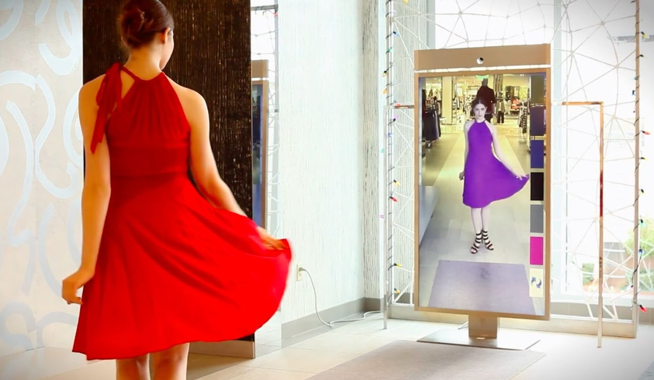 Foto: Probadores virtuales: los nuevos espejos digitales te dicen qué tienes que ponerte