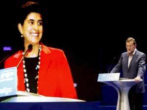 Génova hace la vista gorda al plante de Mayor Oreja y San Gil en el Congreso del PP vasco