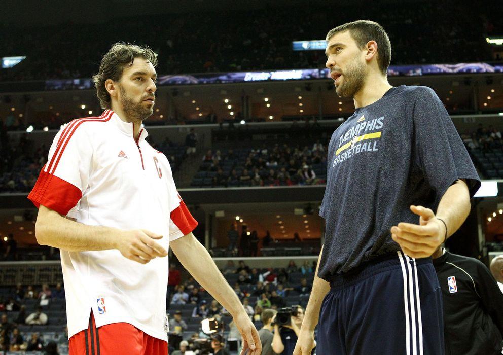 Foto: Los Gasol pasarán a la historia del 'All-Star' de la NBA el próximo 15 de febrero (EFE)