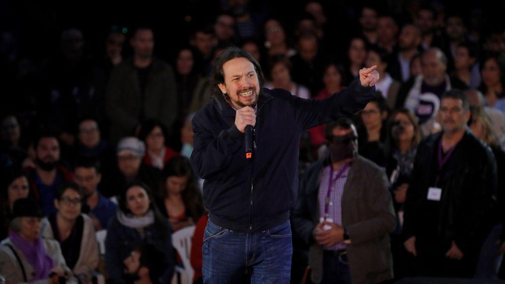 Pablo Iglesias y el rap del hombre que vuelve (enfadado)
