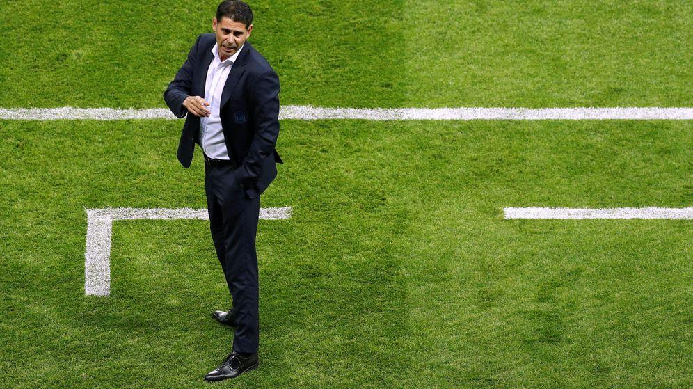 Foto: Fernando Hierro se hizo cargo de la Selección tras la destitución de Julen Lopetegui. (Reuters)