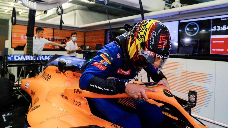 Carlos Sainz empieza a experimentar la suerte de haber fichado por Ferrari