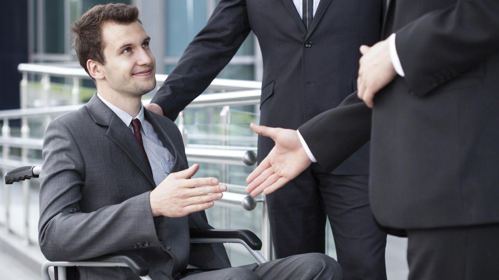 Foto: Por suerte, cada vez más personas con discapacidad están plenamente integradas en el entorno laboral. (iStock)