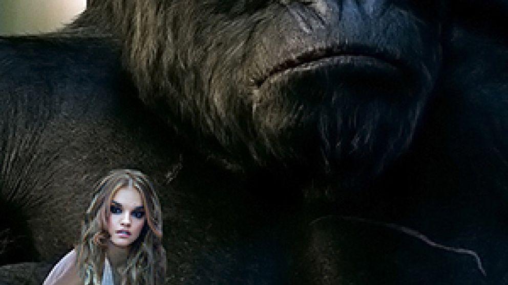 Melody, la niña de los gorilas, se deja de monerías