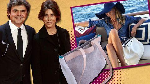 La mujer de Jorge Moragas, diseñadora de bolsos de top models y 'royals'