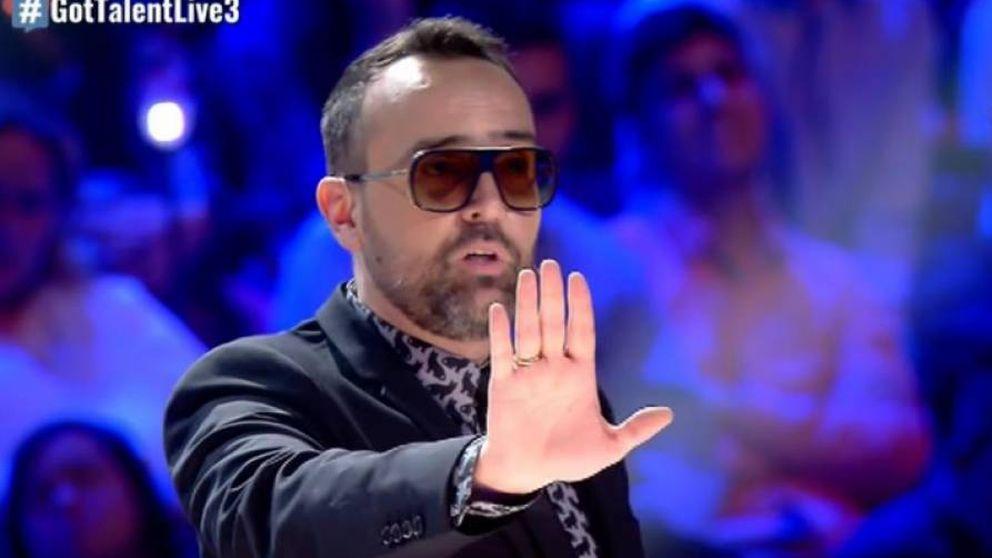 Risto Mejide abandona 'Got Talent' tras enfrentarse con Santi: Me voy a casa