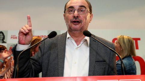 PSOE y Podemos alcanzan un preacuerdo para la investidura de Lambán en Aragón