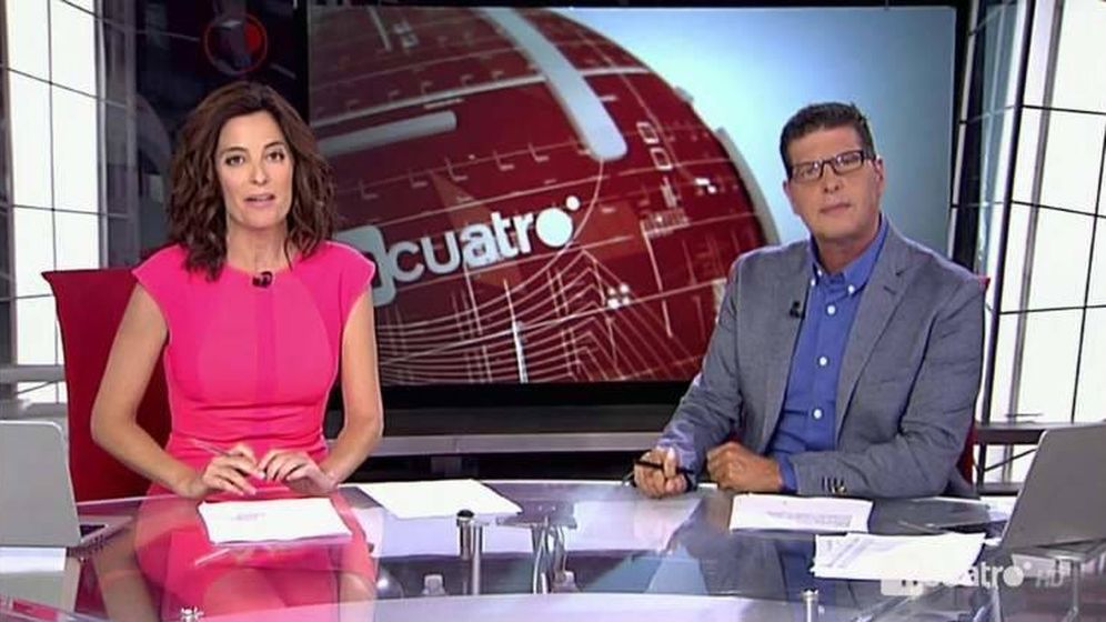 Foto: David Tejera presenta 'Noticias Cuatro 2' en agosto.
