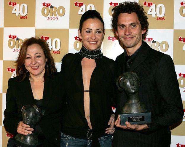 Foto: Carmen Machi y Paco León, mejores actores en los premios TP de Oro