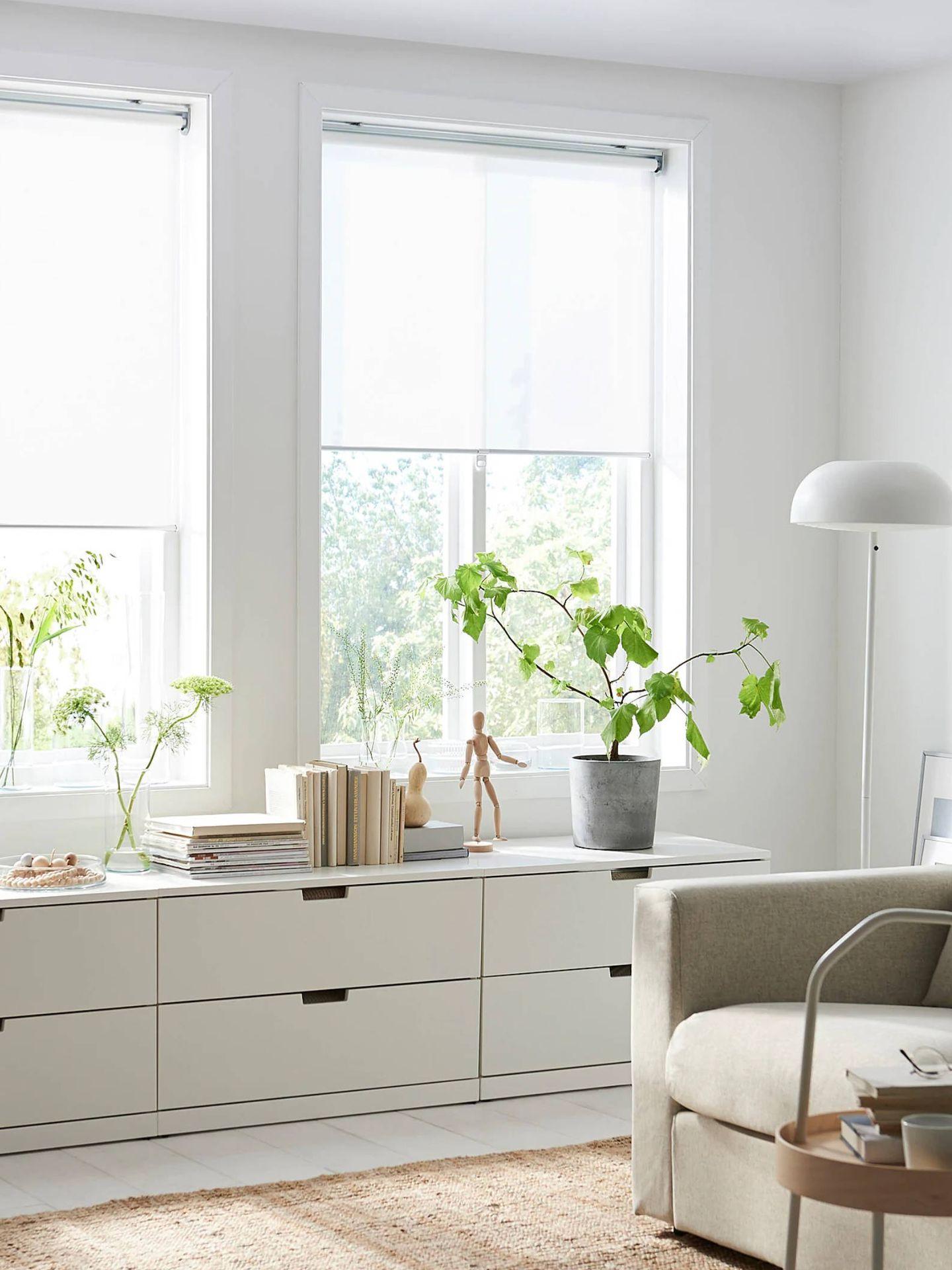 Estores de Ikea. (Cortesía)