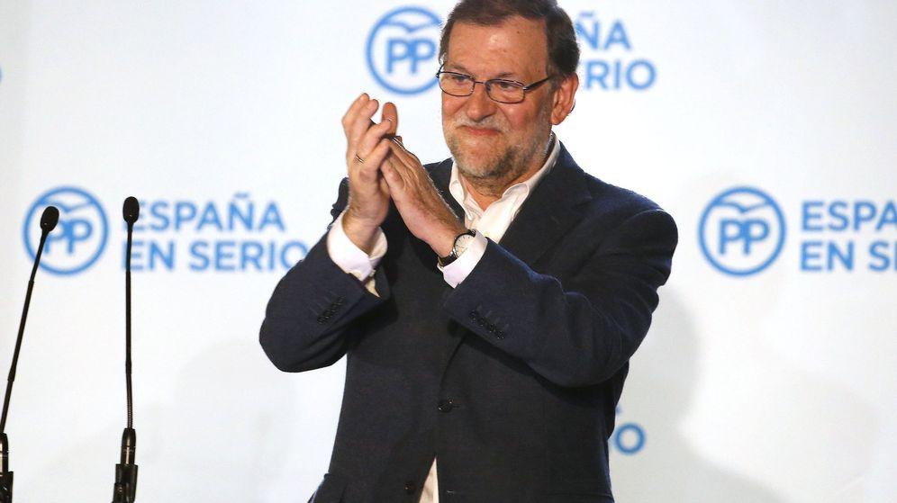 Foto: El presidente y candidato del PP a la Presidencia del Gobierno, Mariano Rajoy. (Efe)