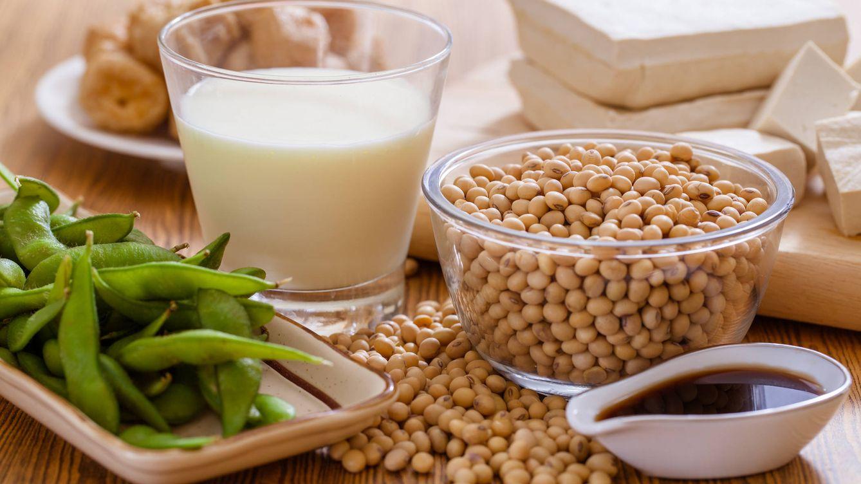 Foto: Productos de soja. (iStock)