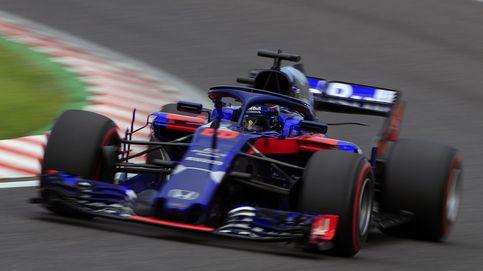 La sonrisa pícara en Red Bull al comprobar su motor Honda en el ratón de laboratorio