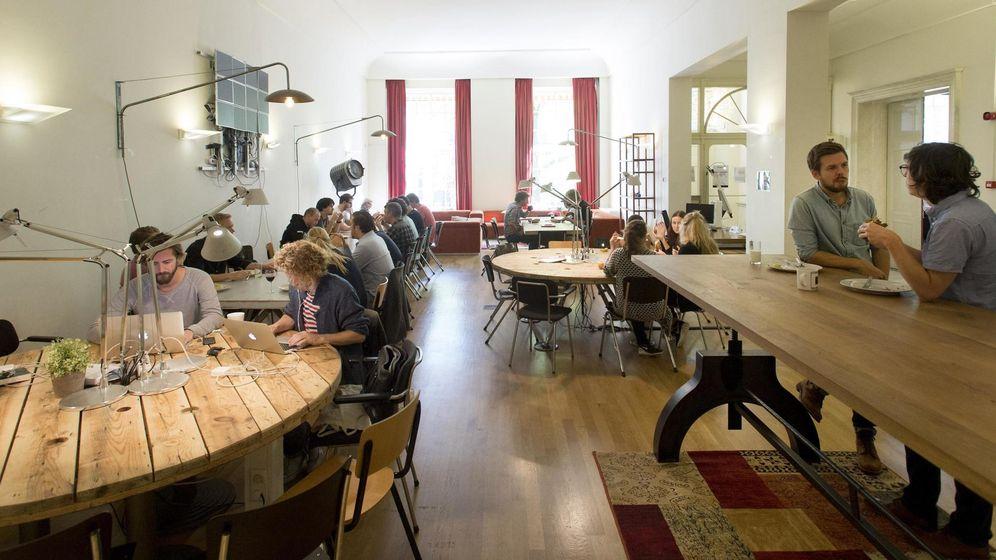 Foto: Interior de una incubadora de 'startups'. (Reuters)