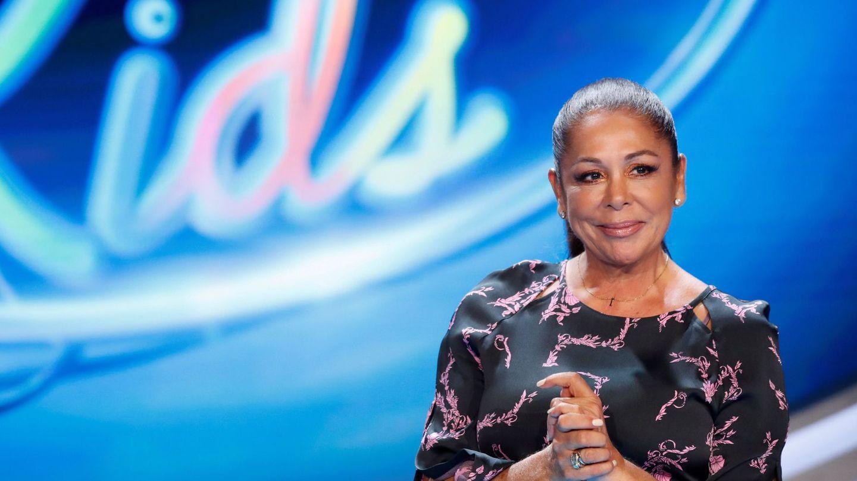 Isabel Pantoja, en la presentación de 'Idol Kids'. (EFE)