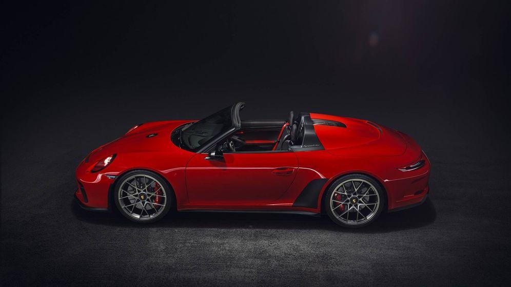 Foto: El Porsche Speedster Concept mostrado en el Salón de París se fabricará en serie en 2019.