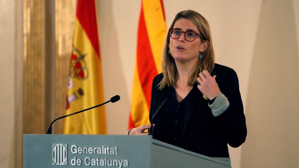 Foto: La 'consellera' de Presidencia, Elsa Artadi. (EFE)