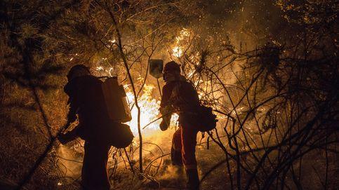 Mueren dos personas cerca de Vigo en uno de los fuegos que queman Galicia