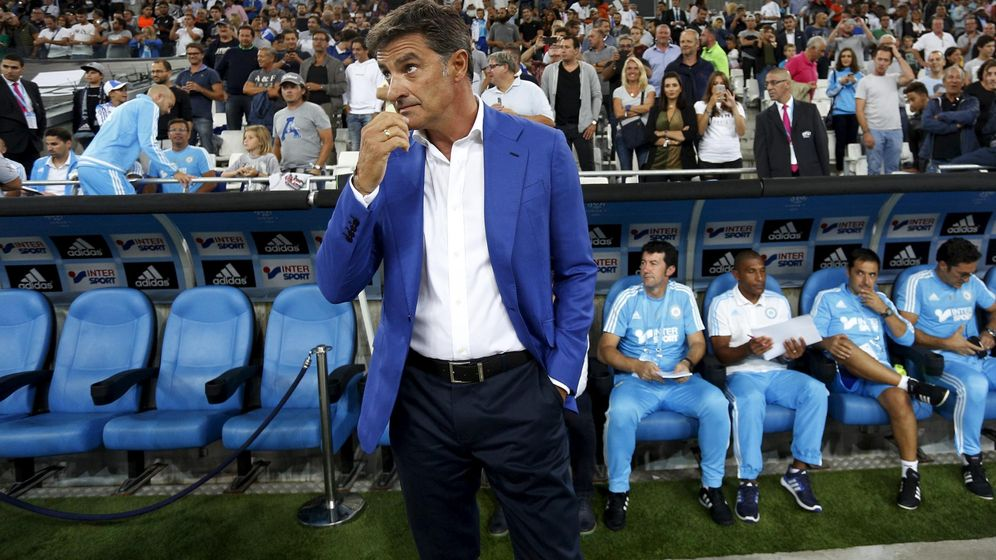 Foto: Míchel fue despedido del Olympique de Marsella el pasado mes de abril (Philippe Laurenson/Reuters)