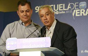 Los descartes dejan a Sanz como el favorito para liderar el PP andaluz