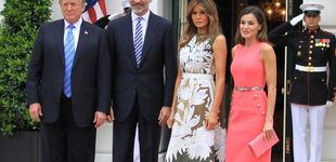 Post de Los Reyes y su conversación con Donald y Melania por el Covid-19