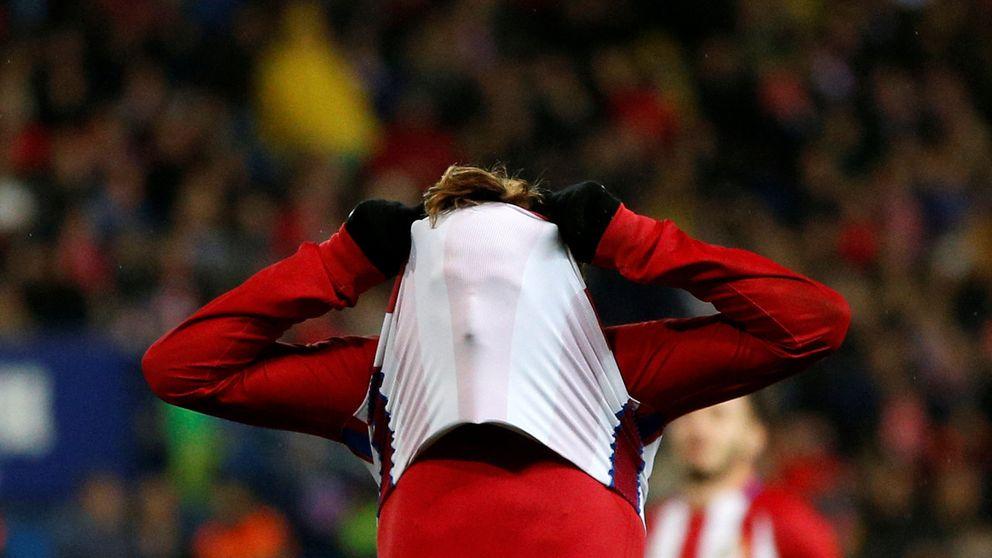 El largo despiste de Griezmann mosquea al Atlético de Madrid