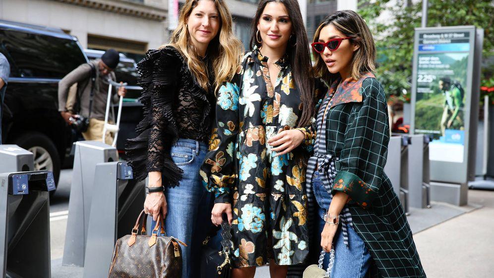 Foto: Fíjate en las reinas del street style. (Getty)