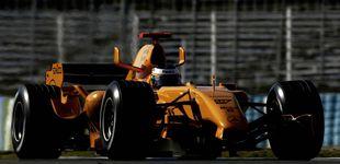 Post de Un McLaren 'naranja', el primer acelerón de una nueva era