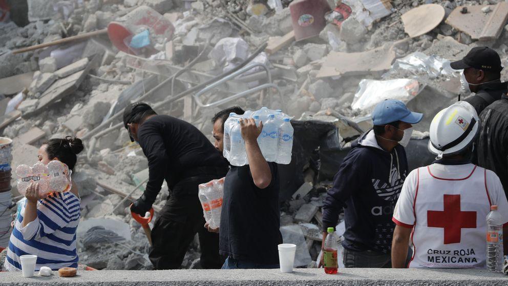 El terremoto transforma Ciudad de México en un mar de solidaridad