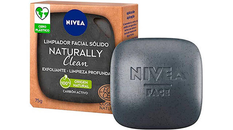 Limpiador facial sólido Naturally Clean de Nivea