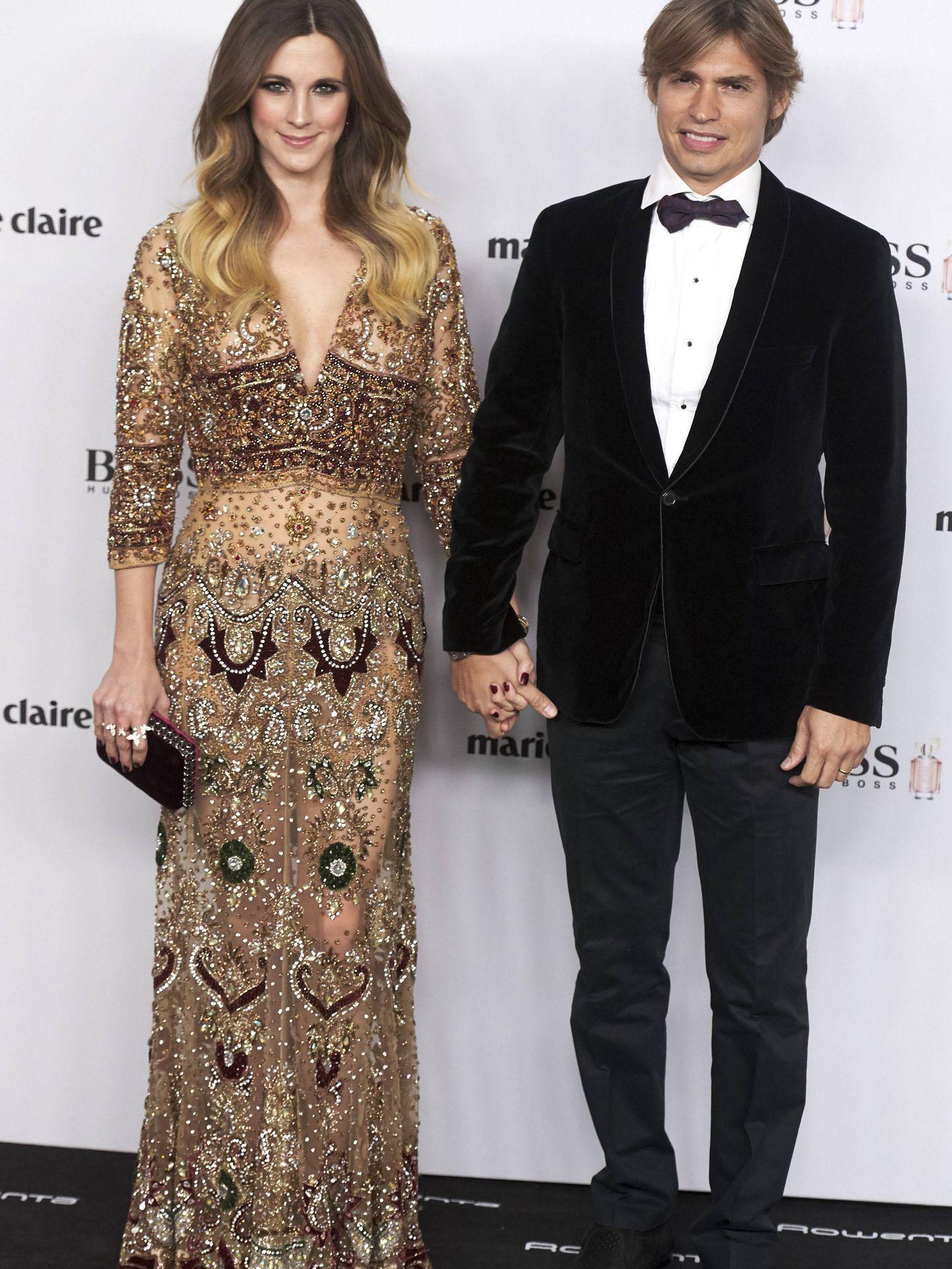 Carlos y Astrid Klisans, en una imagen de archivo. (Getty)