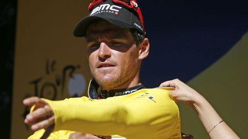 Van Avermaet se viste de amarillo y Contador cede un puñado de segundos