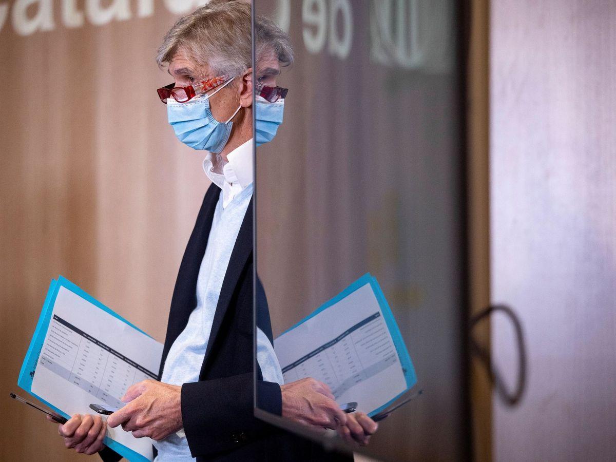 Foto: El secretario de Salud Pública, Josep Maria Argimon. (EFE)