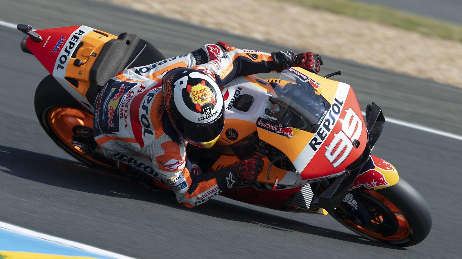 Foto: Jorge Lorenzo busca en Le Mans su primer buen resultado con Honda. (Foto: Repsol Honda)