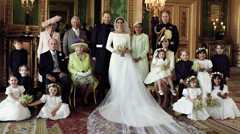 La familia real británica, casi al completo. (Alexei Lubomirski)