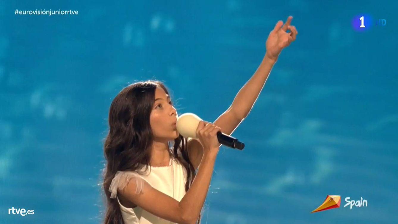 España se lleva el bronce en 'Eurovisión Junior 2019': Melani García, tercera