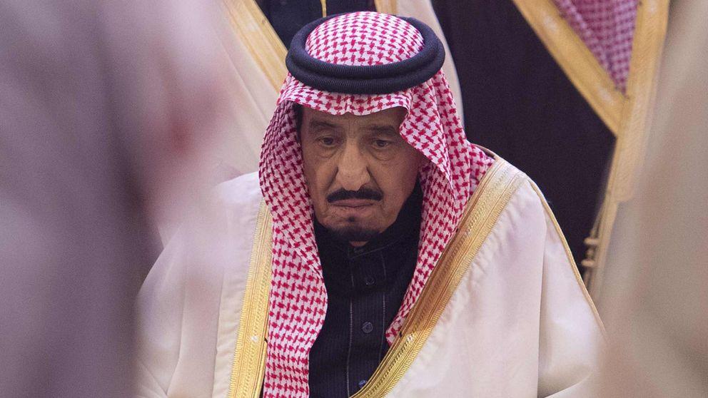 Funeral del rey Abdallah de Arabia Saudí en Riyad