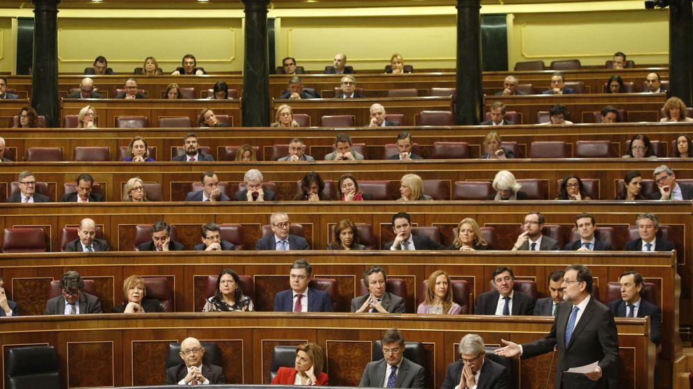 Foto: El presidente del Gobierno, Mariano Rajoy, en el Congreso de los Diputados. (EFE)
