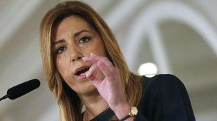 Susana Díaz, de catequesis en Madrid
