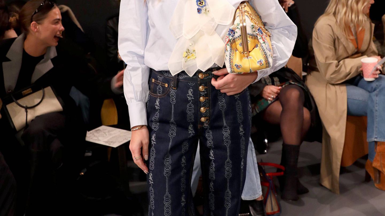 Emili Sindlev y su pelazo siempre ondulado. (Getty)