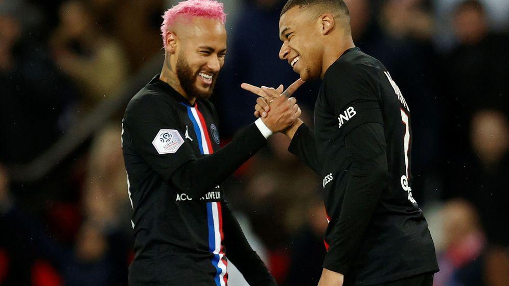 Foto: Neymar y Mbappe forman parte de los afortunados. (Reuters)