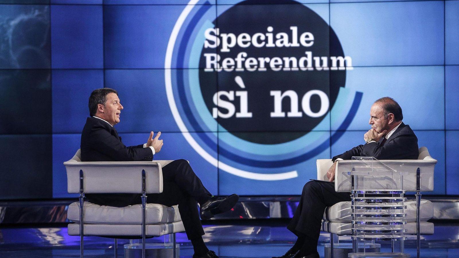 Foto: El primer ministro italiano, Matteo Renzi, a la izquierda. (EFE)
