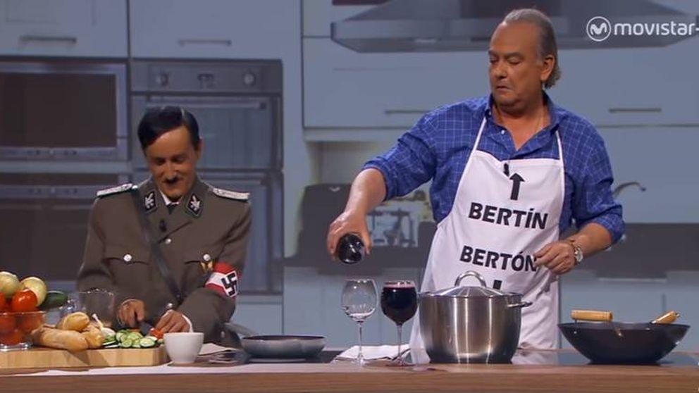 Buenafuente recrea la 'entrevista' de Bertín Osborne a Hitler