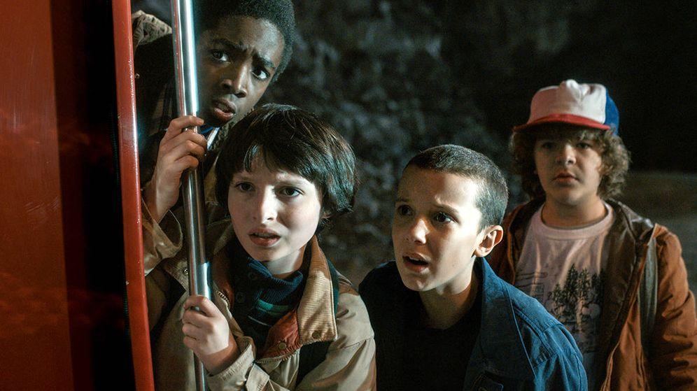 Foto: 'Stranger Things' uno de los éxitos del año de Netflix.