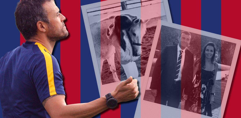 Su casoplón, los coches y la familia: lo que le queda a Luis Enrique si rompe con el Barça